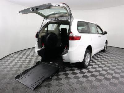 Commercial Wheelchair Vans for Sale - 2017 Toyota Sienna L ADA Compliant Vehicle VIN: 5TDZZ3DC2HS776948