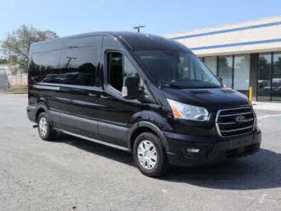 Commercial Wheelchair Vans for Sale - 2020 Ford Transit Passenger Mid-Roof 350 XLT - 15 ADA Compliant Vehicle VIN: 1FBAX2C86LKA14740