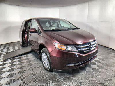 Used Wheelchair Van for Sale - 2014 Honda Odyssey EX-L Wheelchair Accessible Van VIN: 5FNRL5H68EB098045