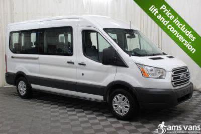 Commercial Wheelchair Vans for Sale - 2017 Ford Transit Wagon 350 XLT 15 ADA Compliant Vehicle VIN: 1FBAX2CM4HKB13819