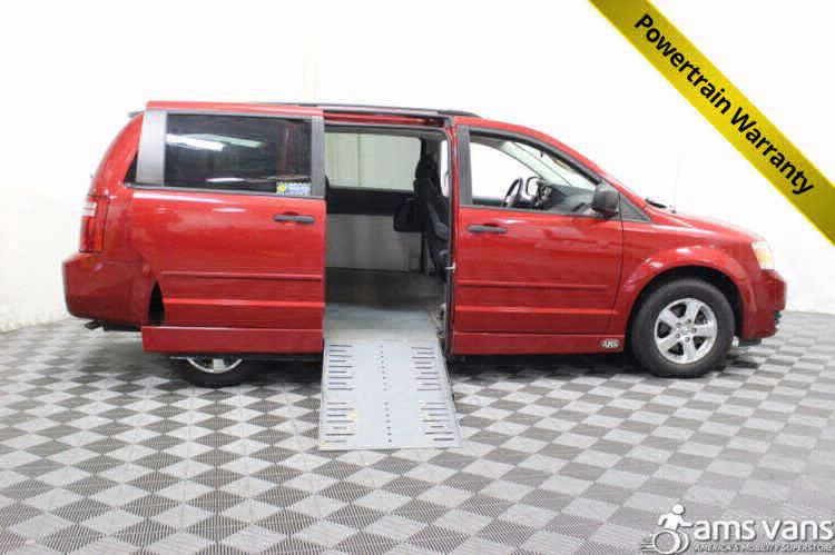 2008 Dodge Grand Caravan SE Wheelchair Van For Sale #1