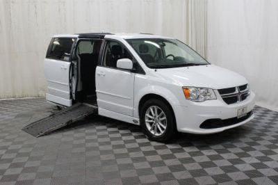 Used Wheelchair Van for Sale - 2016 Dodge Grand Caravan SXT Wheelchair Accessible Van VIN: 2C4RDGCG0GR317581