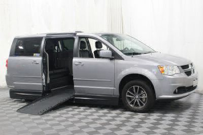 Handicap Van for Sale - 2017 Dodge Grand Caravan SXT Wheelchair Accessible Van VIN: 2C4RDGCG5HR672344