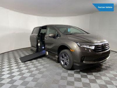 New Wheelchair Van for Sale - 2021 Honda Odyssey EX PC Wheelchair Accessible Van VIN: 5FNRL6H58MB031957