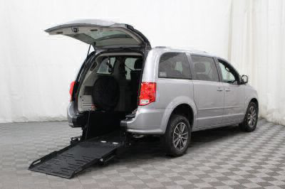 Commercial Wheelchair Vans for Sale - 2017 Dodge Grand Caravan SXT ADA Compliant Vehicle VIN: 2C4RDGCG1HR713083