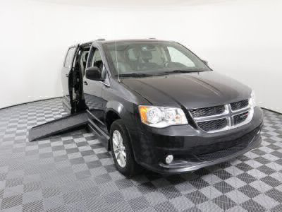 Handicap Van for Sale - 2019 Dodge Grand Caravan SXT Wheelchair Accessible Van VIN: 2C4RDGCG9KR529467