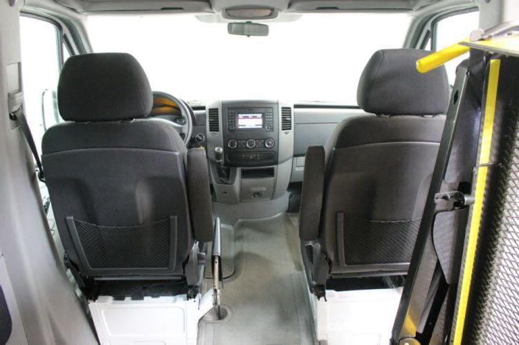 2016 Mercedes-Benz Sprinter 2500 144 WB Wheelchair Van For Sale #11