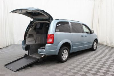 Commercial Wheelchair Vans for Sale - 2008 Chrysler Town & Country Touring ADA Compliant Vehicle VIN: 2A8HR54P98R720887