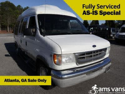 Handicap Van for Sale - 2002 Ford E-Series Cargo E-150 Wheelchair Accessible Van VIN: 1FDRE14LX2HA04950