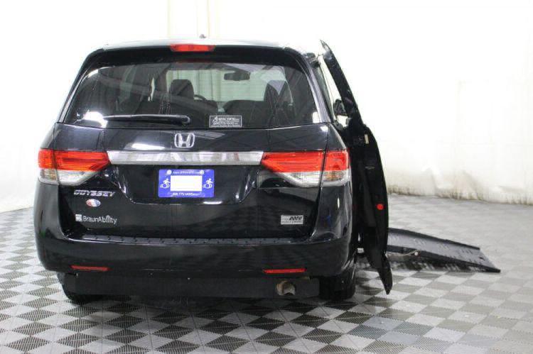 2014 Honda Odyssey EX-L Wheelchair Van For Sale #4