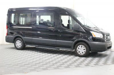 Commercial Wheelchair Vans for Sale - 2017 Ford Transit Passenger 350 XLT 15 ADA Compliant Vehicle VIN: 1FBAX2CM4HKB13268