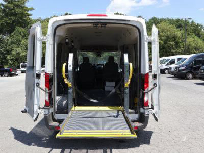 Commercial Wheelchair Vans for Sale - 2017 Ford Transit Passenger 350 XLT ADA Compliant Vehicle VIN: 1FBZX2CG6HKA89309