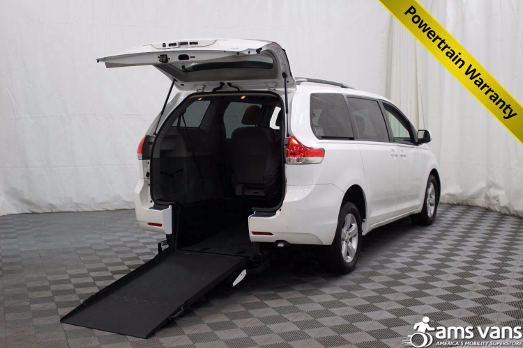 2011 Toyota Sienna LE Wheelchair Van For Sale #1
