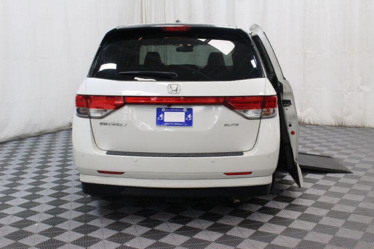 2014 Honda Odyssey Touring Elite Wheelchair Van For Sale #4