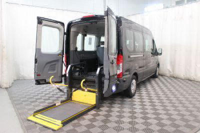 Commercial Wheelchair Vans for Sale - 2018 Ford Transit Passenger 350 XLT ADA Compliant Vehicle VIN: 1FBAX2CM5JKB02916