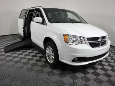 Handicap Van for Sale - 2018 Dodge Grand Caravan SXT Wheelchair Accessible Van VIN: 2C4RDGCG8JR325547