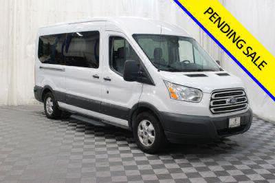 Commercial Wheelchair Vans for Sale - 2017 Ford Transit Passenger 350 XLT 15 ADA Compliant Vehicle VIN: 1FBAX2CM4HKA37681