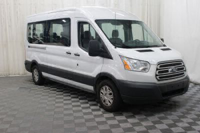 Commercial Wheelchair Vans for Sale - 2017 Ford Transit Passenger 350 XL ADA Compliant Vehicle VIN: 1FBAX2CM6HKB13790