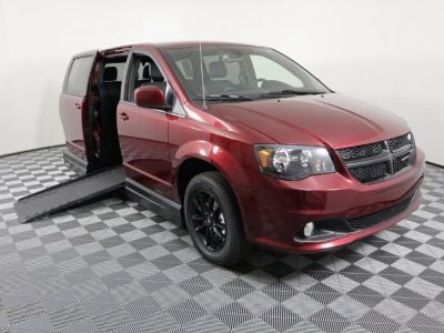 New Wheelchair Van for Sale - 2019 Dodge Grand Caravan SXT Wheelchair Accessible Van VIN: 2C7WDGCG4KR795405