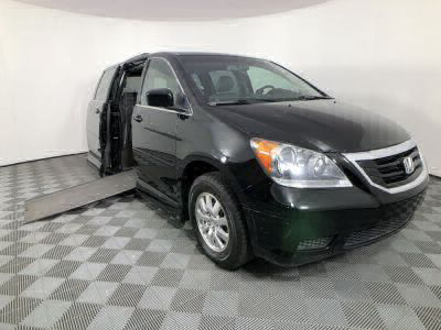 Used Wheelchair Van for Sale - 2010 Honda Odyssey EX-L w/DVD Wheelchair Accessible Van VIN: 5FNRL3H77AB032500
