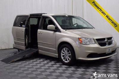 Handicap Van for Sale - 2013 Dodge Grand Caravan SXT Wheelchair Accessible Van VIN: 2C4RDGCGXDR788309