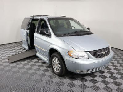 Used Wheelchair Van for Sale - 2002 Chrysler Town & Country LXi Wheelchair Accessible Van VIN: 2C8GP54L52R643995