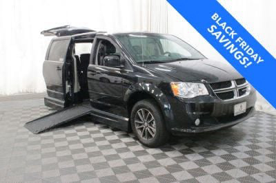 Handicap Van for Sale - 2017 Dodge Grand Caravan SXT Wheelchair Accessible Van VIN: 2C4RDGCG3HR581377