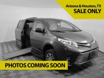 New Wheelchair Van for Sale - 2020 Toyota Sienna SE-P Nightshade Wheelchair Accessible Van VIN: 5TDXZ3DC8LS062497