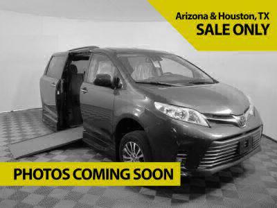 New Wheelchair Van for Sale - 2020 Toyota Sienna SE-P Nightshade Wheelchair Accessible Van VIN: 5TDXZ3DC8LS062497