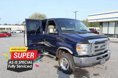Commercial Wheelchair Vans for Sale - 2012 Ford Econoline E150 E-150 ADA Compliant Vehicle VIN: 1FDNE1EL5CDA04862