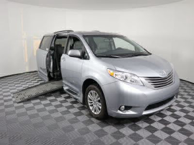 Used Wheelchair Van for Sale - 2015 Toyota Sienna XLE Wheelchair Accessible Van VIN: 5TDYK3DC3FS643693
