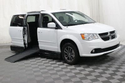 Handicap Van for Sale - 2017 Dodge Grand Caravan SXT Wheelchair Accessible Van VIN: 2C4RDGCG0HR678259