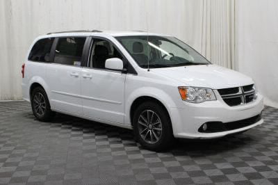 Handicap Van for Sale - 2017 Dodge Grand Caravan SXT Wheelchair Accessible Van VIN: 2C4RDGCG2HR814679