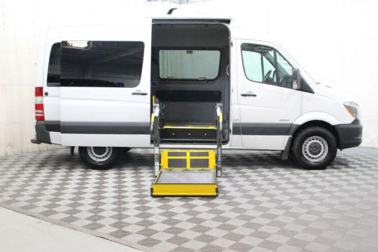 2016 Mercedes-Benz Sprinter 2500 144 WB Wheelchair Van For Sale #5