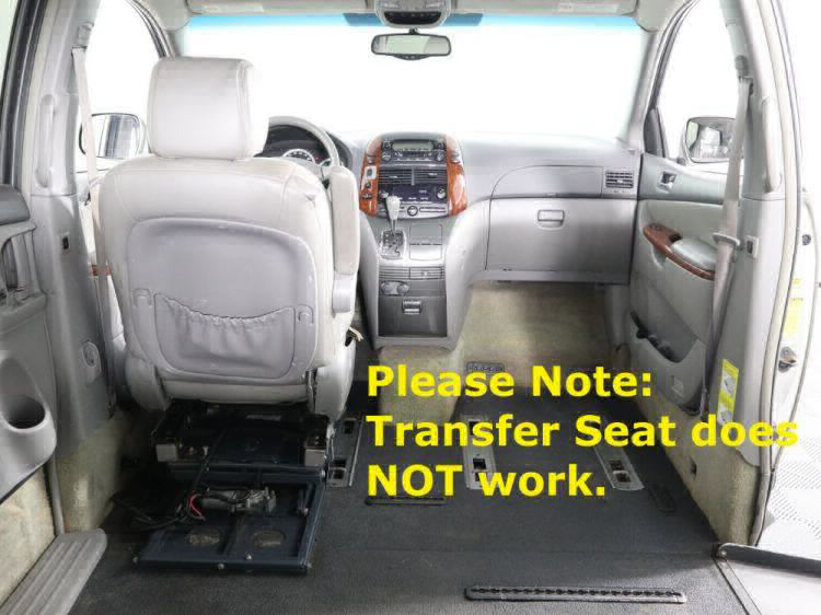 2004 Toyota Sienna XLE Wheelchair Van For Sale #12
