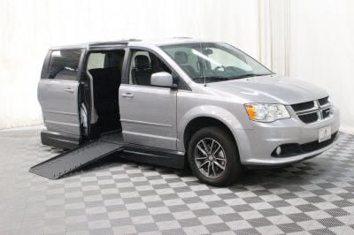 Handicap Van for Sale - 2017 Dodge Grand Caravan SXT Wheelchair Accessible Van VIN: 2C4RDGCG3HR580911