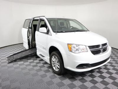 Handicap Van for Sale - 2016 Dodge Grand Caravan SXT Wheelchair Accessible Van VIN: 2C4RDGCG0GR323218