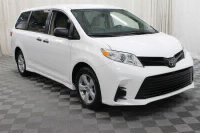 Commercial Wheelchair Vans for Sale - 2019 Toyota Sienna L ADA Compliant Vehicle VIN: 5TDZZ3DC0KS976766