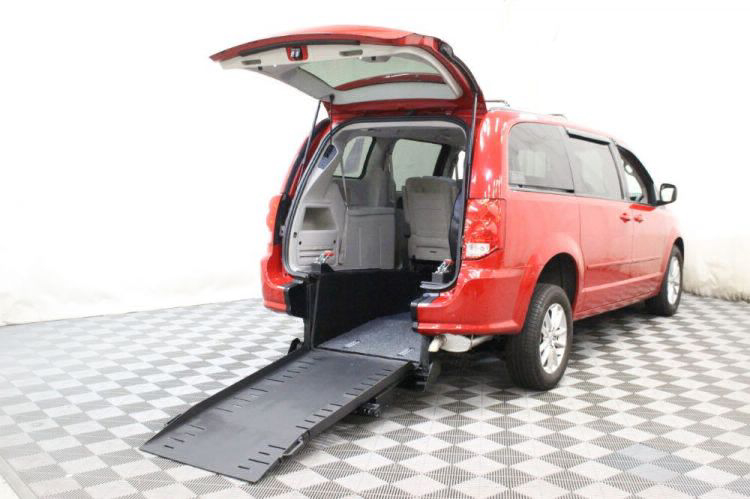 2014 Dodge Grand Caravan SXT Wheelchair Van For Sale #1