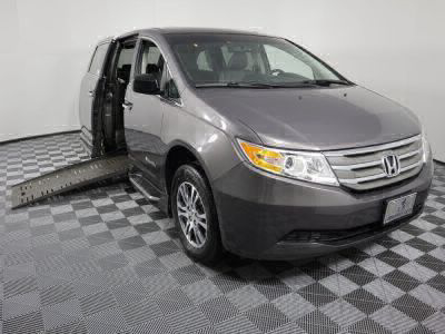 Used Wheelchair Van for Sale - 2012 Honda Odyssey EX-L Wheelchair Accessible Van VIN: 5FNRL5H67CB042482
