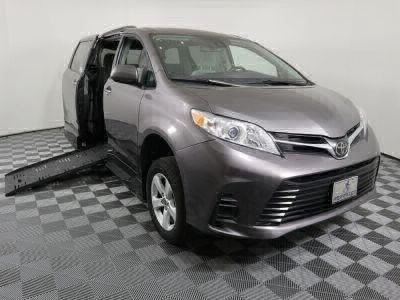 Handicap Van for Sale - 2018 Toyota Sienna LE Standard Wheelchair Accessible Van VIN: 5TDKZ3DC7JS927791