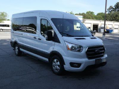 Commercial Wheelchair Vans for Sale - 2020 Ford Transit Passenger Mid-Roof 350 XLT - 15 ADA Compliant Vehicle VIN: 1FBAX2CG7LKA44109
