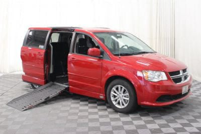 Used Wheelchair Van for Sale - 2016 Dodge Grand Caravan SXT Wheelchair Accessible Van VIN: 2C4RDGCG8GR284278