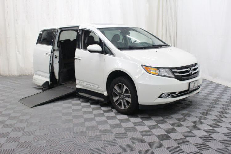 2014 Honda Odyssey Touring Elite Wheelchair Van For Sale #1