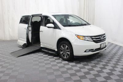 Used 2014 Honda Odyssey Touring Elite Wheelchair Van