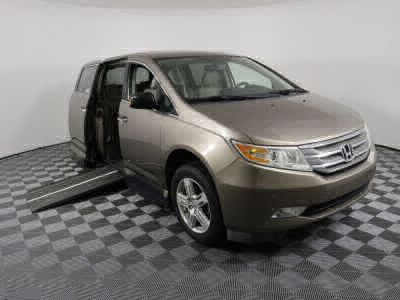 Used Wheelchair Van for Sale - 2013 Honda Odyssey Touring Wheelchair Accessible Van VIN: 5FNRL5H96DB066008
