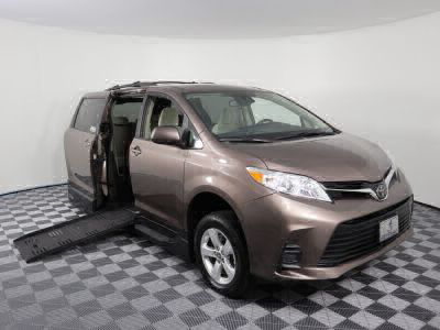 New Wheelchair Van for Sale - 2018 Toyota Sienna LE Wheelchair Accessible Van VIN: 5TDKZ3DC2JS923437