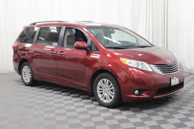 Commercial Wheelchair Vans for Sale - 2017 Toyota Sienna XLE ADA Compliant Vehicle VIN: 5TDYZ3DC0HS814527