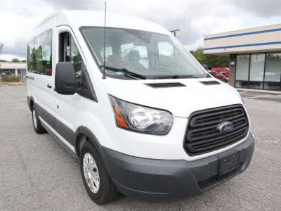 Handicap Van for Sale - 2017 Ford Transit Passenger (MR8) 150 XL - 8 Wheelchair Accessible Van VIN: 1FMZK1CM3HKB51013