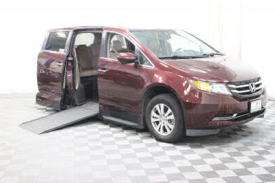 Used Wheelchair Van for Sale - 2014 Honda Odyssey EX-L w/Navi Wheelchair Accessible Van VIN: 5FNRL5H63EB098065